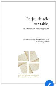 Le jeu de r le sur table un laboratoire de l 39 imaginaire lapin marteau - Jeu de role sur table en ligne ...